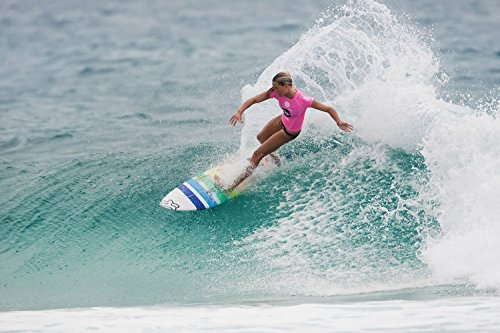 Sports Surfing Wave Woman Girl Poster 36x24