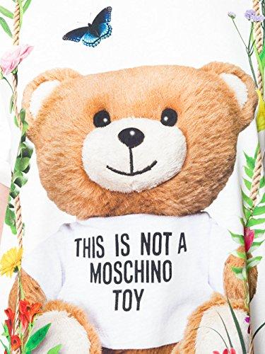 Moschino T-Shirt Donna V070504401001 Cotone Bianco