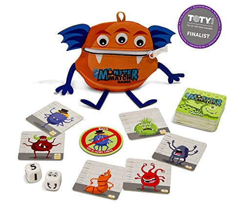 (North Star Games Monster Match Dice and Card Game for Family & Kids, 2-6 Players, Ages 6+ )