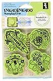Inkadinkado Stamping Gear Cling Stamps, Holiday