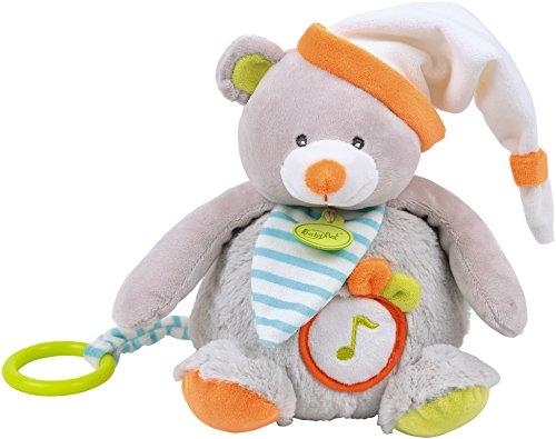 Baby Nat' Boîte à Musique Oscar l'Ourson Gris Doudou et Compagnie BN022
