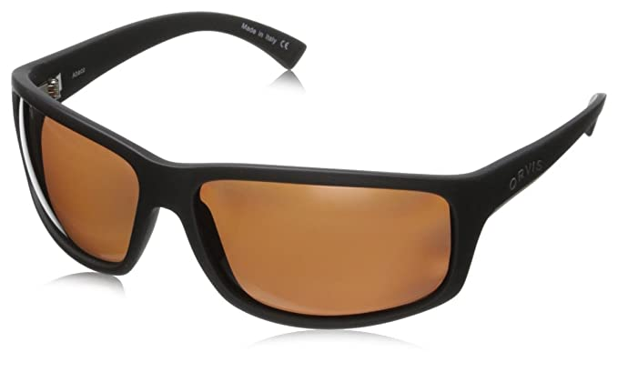 7ee01a56c1 Orvis Men s Abaco OR-ABCO-BKRS-PC3910 Polarized Wrap Sunglasses ...