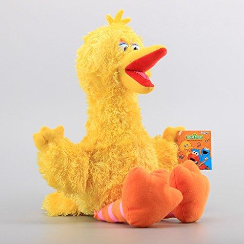 Sesame Street Big Bird 12 Inch Toddler Stuffed Plush Kids Toys