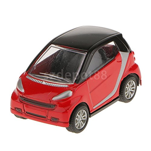 red-143-fortwo-smart-alloy-die-cast-model-toy-car-collection