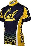 NCAA California Cycling Jersey (X-Large,Sea Blue/Gold)