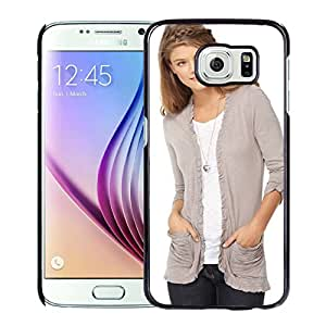 New Custom Designed Cover Case For Samsung Galaxy S6 With Nina Agdal Girl Mobile Wallpaper(2).jpg