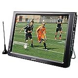 "Electronics : Supersonic SC-2812 12"" Portable Ultra Lightweight Widescreen LED TV, HDMI, SD, MMC, USB, VGA Remote Control"