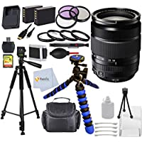 Fujifilm 18-135mm f/3.5-5.6 R LM OIS WR International Version (No Warranty) Bundle for Fujifilm X-Pro2 Camera: 12 Gripster Tripod + 67mm Filter Kit + 2 Extended Life Replacement Batteries & More