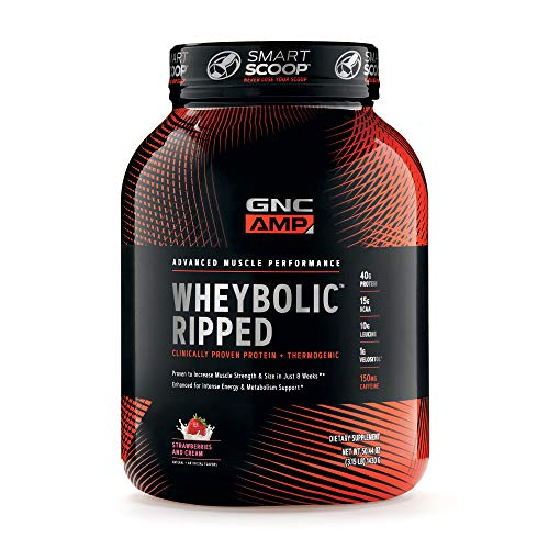 GNC Wheybolic Strawberries Servings Contains product image