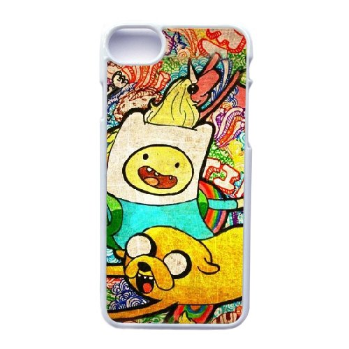 Coque,Apple Coque iphone 7 (4.7 pouce) Case Coque, Generic Adventure Time Season 7 Cover Case Cover for Coque iphone 7 (4.7 pouce) blanc Hard Plastic Phone Case Cover