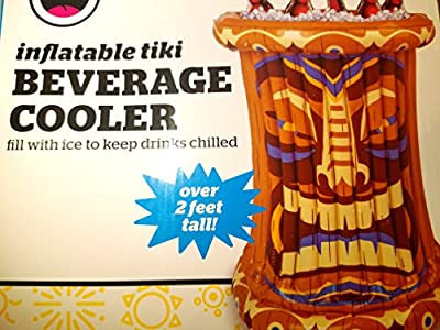 Inflatable Tiki Beverage Cooler