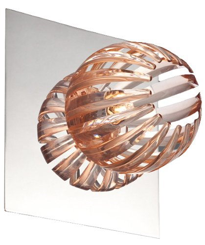 - Eurofase 23203-013 Cosmo 1-Light Wall Sconce, Chrome