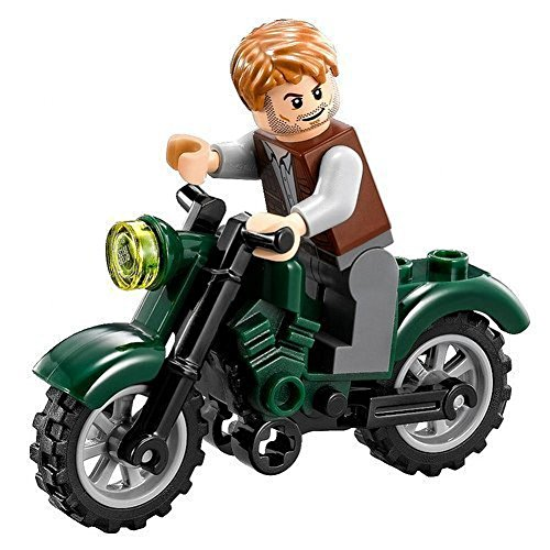 LEGO Jurassic World Owen with Motorcycle