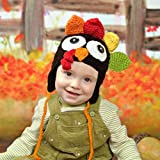 Baby's Thanksgiving Turkey Hat Knitted