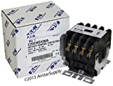 Furnas 42BF25AFBBQ - Replaced by Eaton / Cutler Hammer C25END430A 50mm DP Contactor , 4-Pole , 30 Amp , 120 VAC Coil Voltage