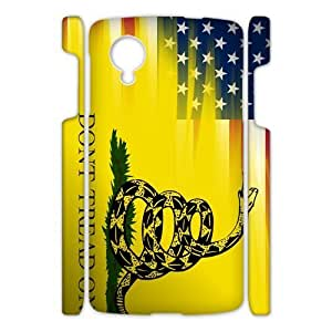 Canting_Good,Don't Tread On Me, Custom Case for Google Nexus 5 3D