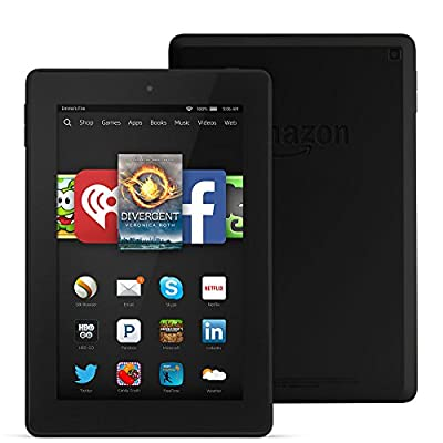 "Fire HD 7, 7"" HD Display, Wi-Fi, 8 GB, Black"