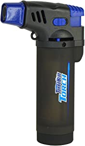 Turbo Blue XXL Jet Flame Refillable Torch Lighter with Powerful Windproof Flame (1)