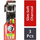 Colgate Slim Soft Charcoal Toothbrush Twin Pack Saver at amazon