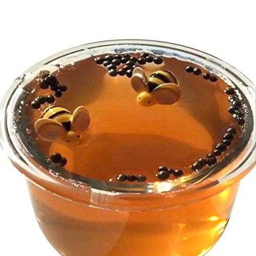 Matoen 60ML Honeybee Mixing Cloud Putty Scented Stress Kids Clay Thai Crystal Puree Mud Bee Slime Mud Toy (60ML, Brown)