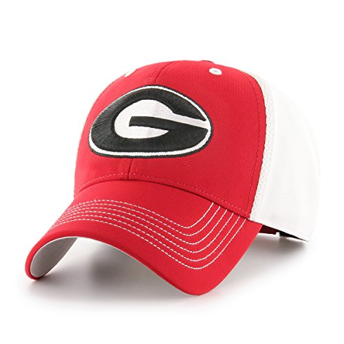 University Georgia Bulldogs Ncaa (NCAA Georgia Bulldogs Sling OTS All-Star MVP Adjustable Hat, Red, One Size)