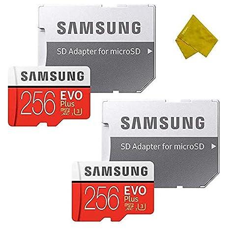 Samsung - Tarjeta de Memoria EVO+ microSDXC de 256 GB con ...