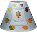 RNK Shops Watercolor Hot Air Balloons Empire Lamp Shade (Personalized)