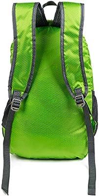 5b442a9e4674 MODARANI Boys Girls 20L Green Hiking Backpack Foldable Camping ...