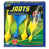 POOF Jarts Dart Target Lawn Game with Safe Round Tips by Poof