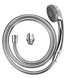 Wenko Washbasin 22866100Shower Mobile Hand-Held Shower Head with Shower Hose–Stainless Steel
