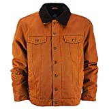 Dickies Glenside Fleece Lined Jacket Brown Duck
