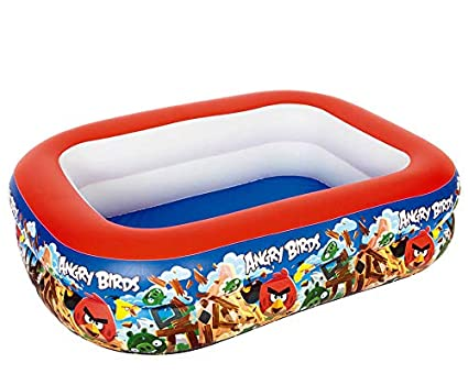 Amazon.com: Angry Birds Familia Inflable Piscina hinchable ...