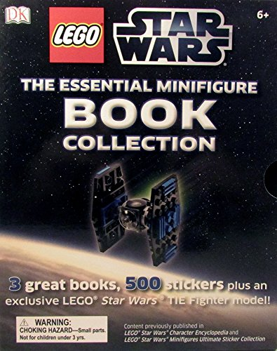 Lego Star Wars - The essential minifigure book collection (3 great books, 500 stickers plus an exclusive Lego Star Wars Tie Fighter model) (Darth Maul Lego Figure)
