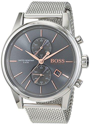 HUGO BOSS Men's Chronograph Quartz Watch with Stainless Steel Bracelet – 1513440