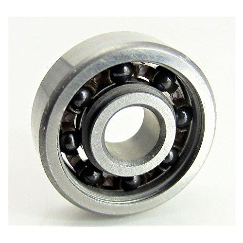 - 5x16x5mm S-625 Open Ball Bearing Hybrid Ceramic