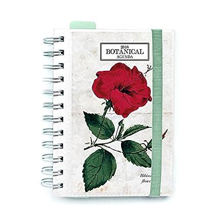 Grupo Erik Editores - Agenda 2018 Día Página Botanical