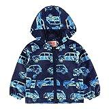 Daniel Galsworthy Boys Jackets New Summer Baby Boy Clothes Cartoon Car Printed Long Sleeve Blue 3T