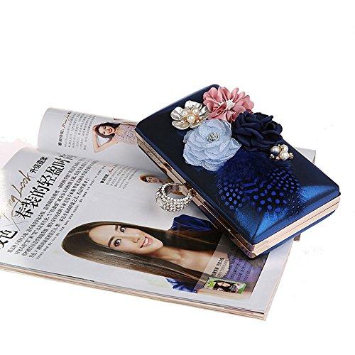 TOOKY - Bolso mochila  de aleación para mujer Azul