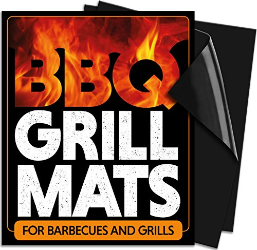 Bbq Grill Mats 2 Pack Use On Gas Charcoal Electric