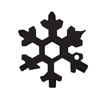 Portátil exterior de copo de nieve Llavero Herramienta, wawer de ...