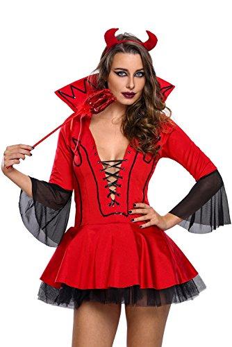Beati (Female Devil Costume Makeup)
