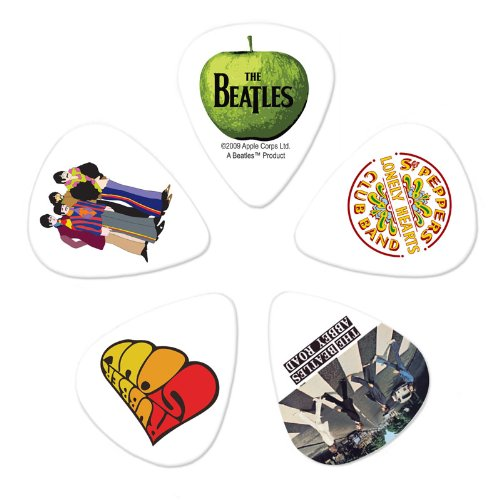 Planet Waves Beatles Guitar Picks, Meet the Beatles, 10 Pack, Heavy Gauge