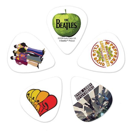 Planet Waves Beatles Guitar Picks, Meet the Beatles, 10 Pack, Heavy Gauge ()