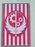 HALLOWEEN COSTUME PROP - ID Badge Fall Out Brotherhood of Steel