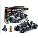 325pcs Batman the Tumbler Batmobile Joker Super Heroes Dc Building Blocks Marvel Set Minifigures Toy Compatible with Lego Without Original Boxes