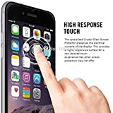 iPhone 7 Plus Screen Protector, TechCorp Premium Tempered Glass, New Model Anti-Scratch Ultra Clear Most Durable iPhone 7 Plus Glass Screen Protector, Apple iPhone 7 Plus / 6S Plus / 6 Plus Screen Protector.