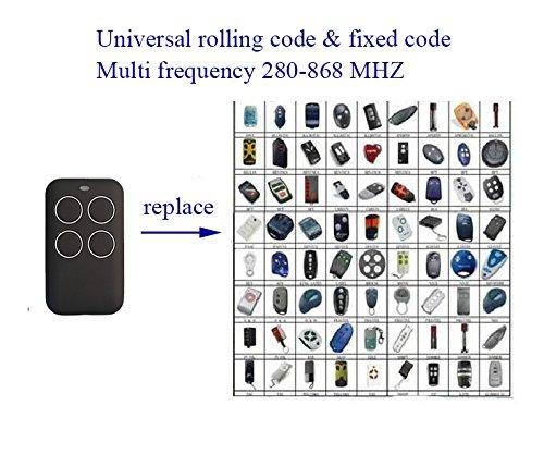 Xinda 4 Button Universal Chamberlain Liftmaster Craftsman