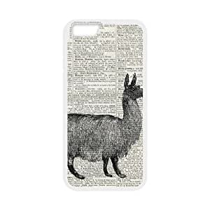 Llama Dictionary iPhone 6 Plus 5.5 Inch Cell Phone Case White xlb-070865