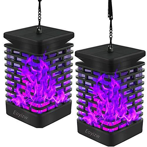 Purple Outdoor Solar Lights in US - 6