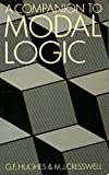 A Companion to Modal Logic, Hughes, G. E. and Cresswell, Maxwell J., 0416375103
